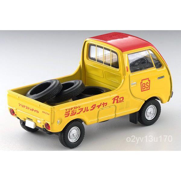 【四毛百貨】車模*TOMY TLV 1/64 LV-185C 普斯利通 輪胎 貨車