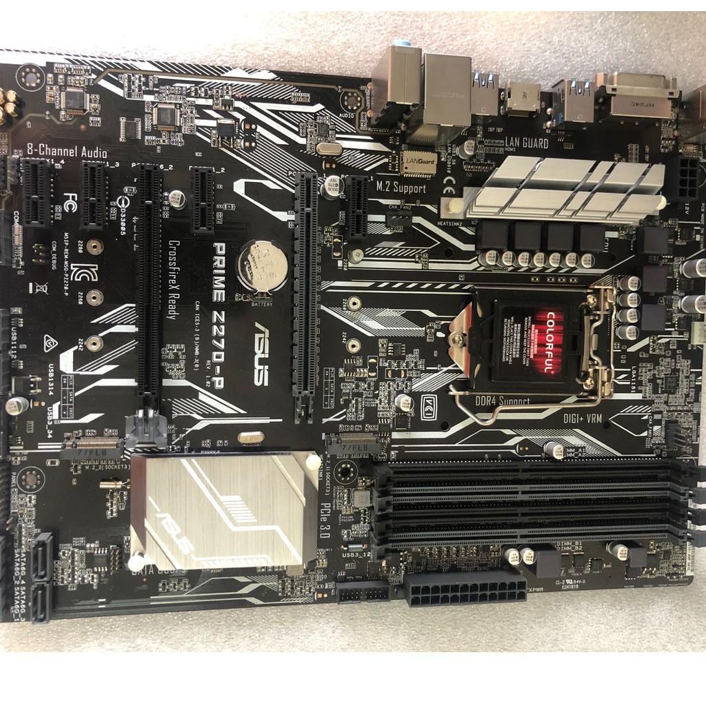 Z270主板新  Asus  華碩  Z270-P A AR F K 台式機電腦  ATX  支持i7  7700K