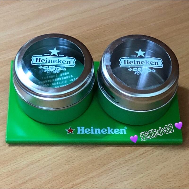 ☆Heineken 海尼根精裝收納罐 調味罐 小物收納 四色可選 就是要海尼根💯