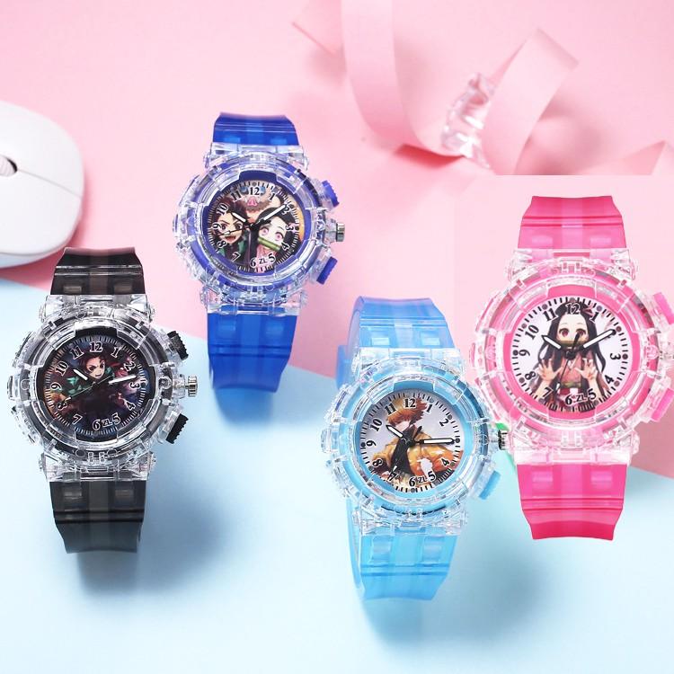 鬼滅之刃兒童錶手錶卡通錶 296902【77小物】