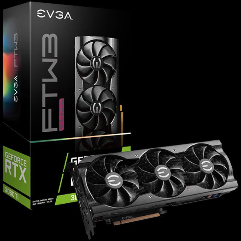 EVGA GeForce RTX 3060 Ti FTW3 ULTRA GAMING 顯示卡
