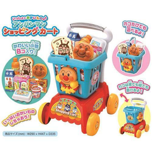 【珈一日韓小舖】日本麵包超人超市購物車玩具