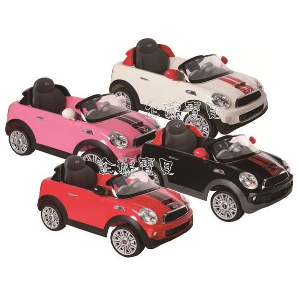 @企鵝寶貝@運動版新款 Mini Cooper COUPE 兒童電動~經典遙控電動車@ 無超取 @
