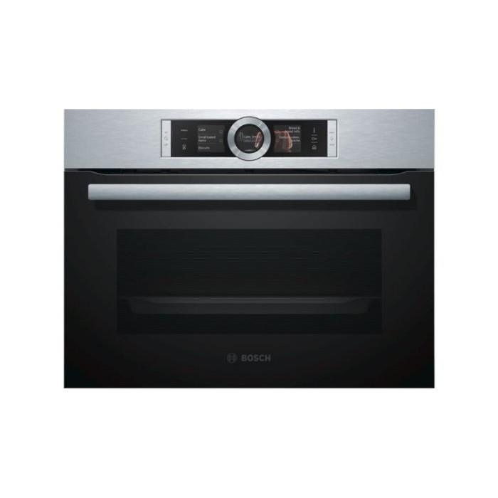 BOSCH 博世 -8系列烤箱 CSG656BS1 崁入式蒸烤爐《產地:德國》 47L 歐規220V