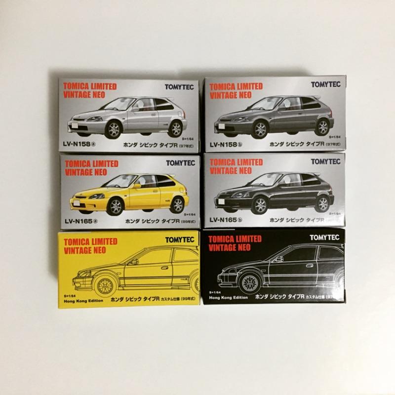 【TOMYTEC】Honda Civic EK9 全套