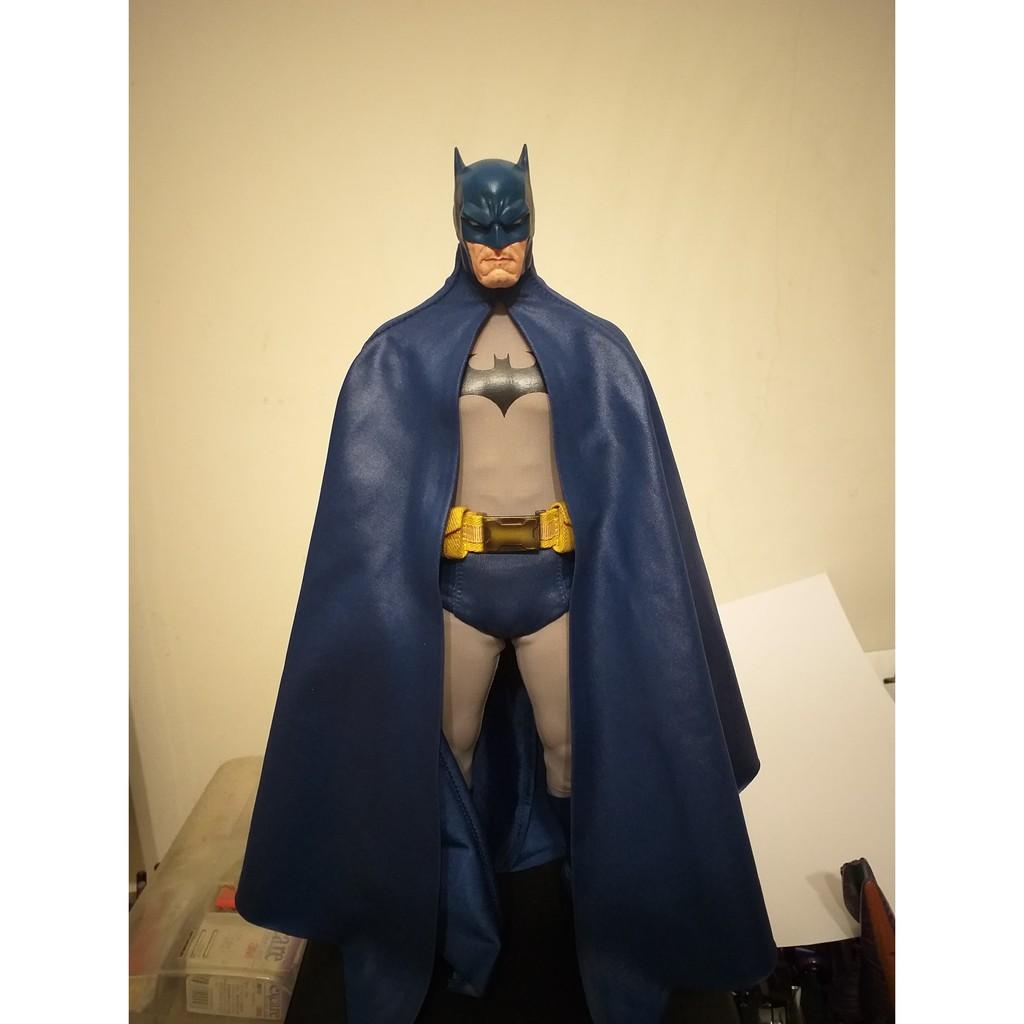 1/6 12吋 DC 蝙蝠俠 BATMAN HUSH 藍灰色 國外購入 正義聯盟 HOT TOYS SIDESHOW