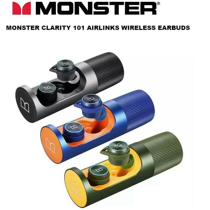 全新Monster Clarity 101 Airlinks-真無線藍牙耳機現貨速出