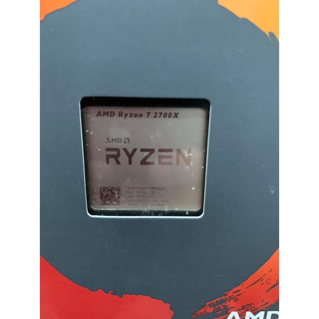 AMD R7-2700X 全新未開封