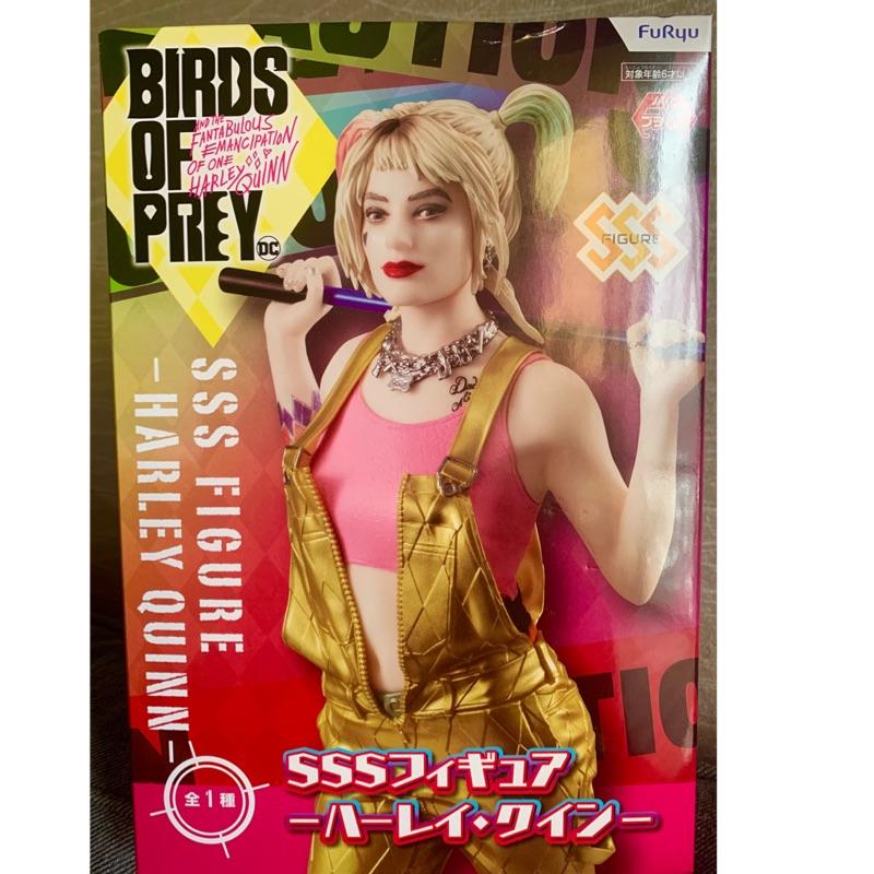 《安比日貨小舖》日版FuRyu-BIRDS OF PREY SSS小丑女 哈莉奎因 DC猛禽小隊-小丑女大解放 公仔