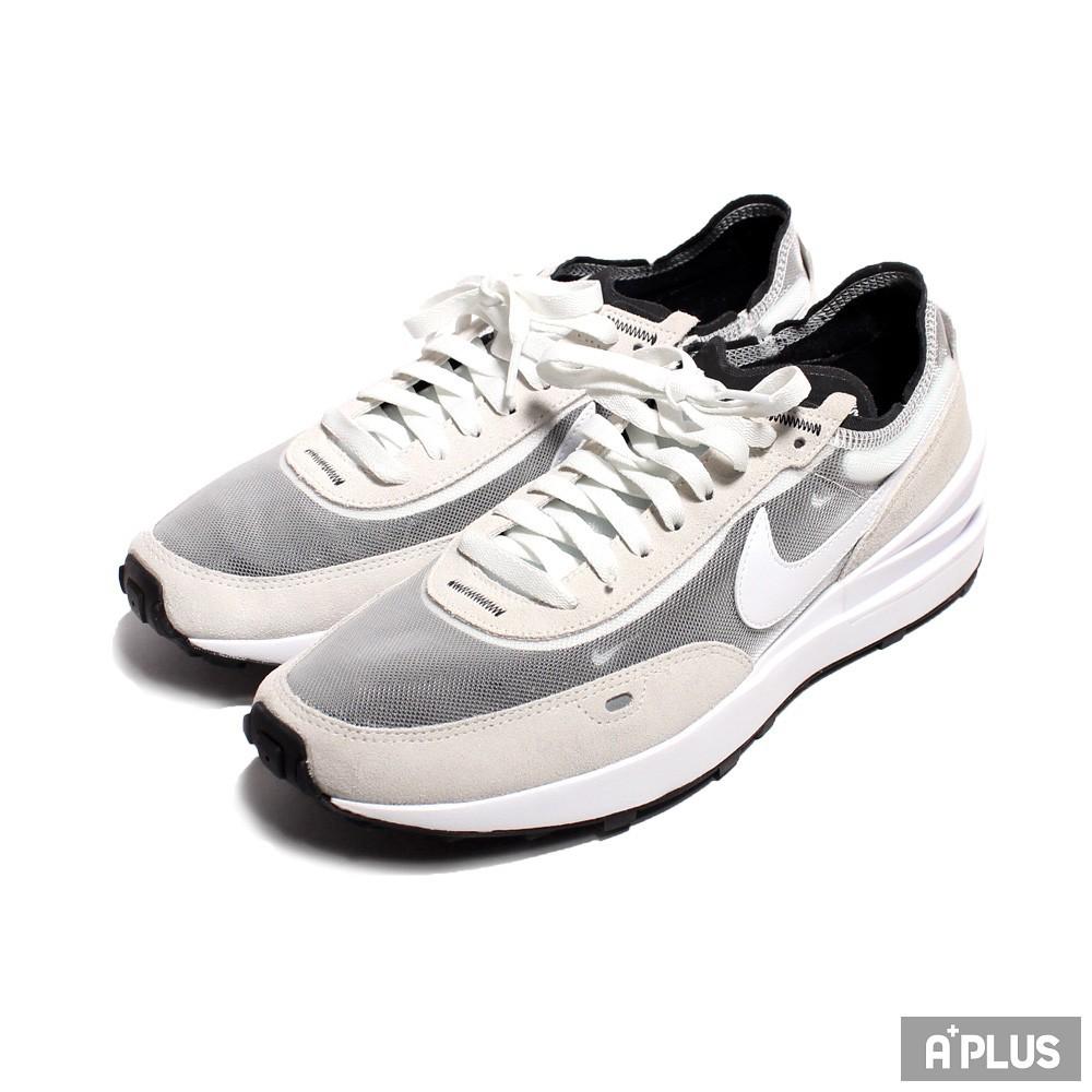 NIKE 男 WAFFLE ONE 休閒鞋 經典 復古 麂皮 解構 穿搭 灰白 小SACAI - DA7995100