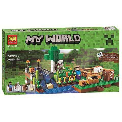 【現貨】博樂10175我的世界系列兼容樂高非LEGO積木擺件模型益智兒童玩具禮品