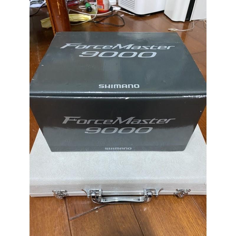 完整盒裝 shimano fm9000 電動捲線器 與BM9000 線杯同量