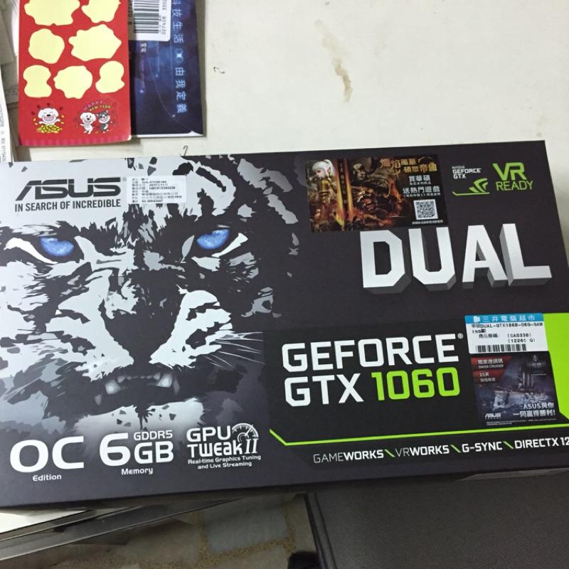 ASUS DUAL GTX1060 O6G 二手