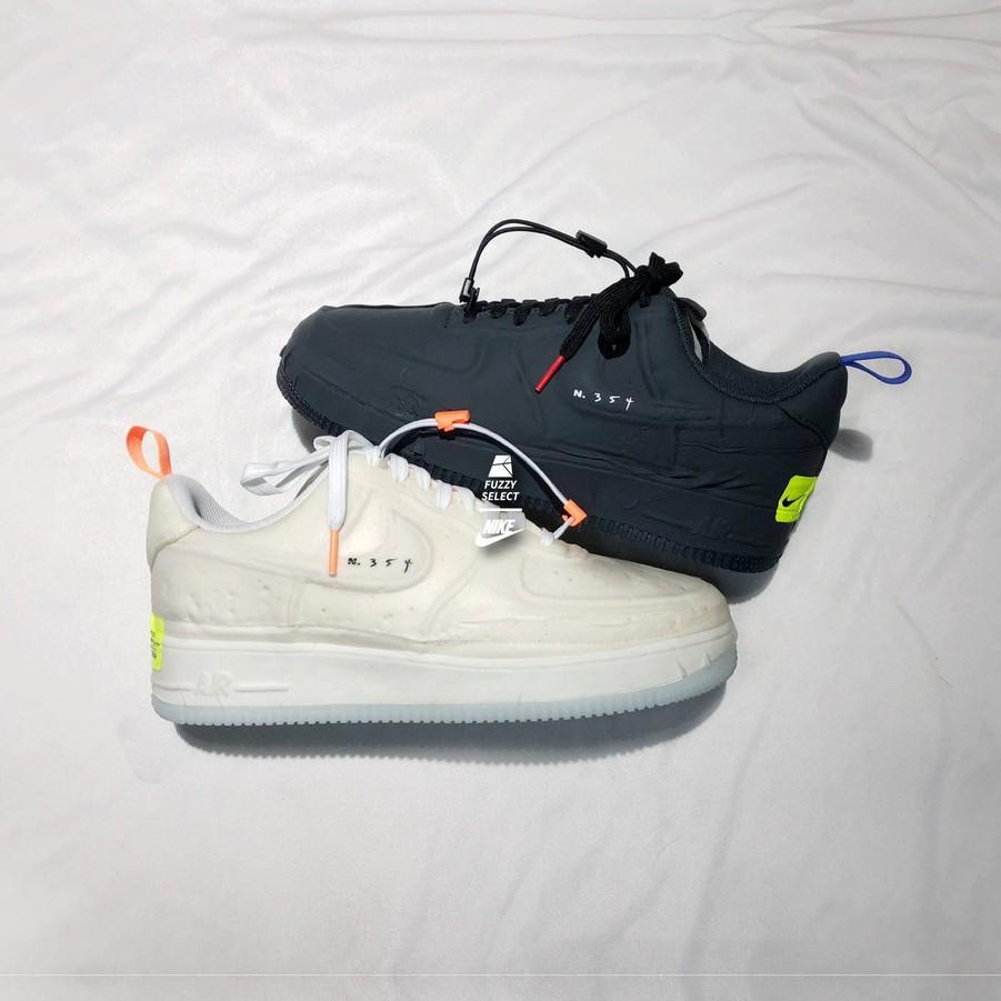 【逢甲FUZZY】Nike Air Force 1 N.354 米白 CV1754-100 全黑 CV1754-001