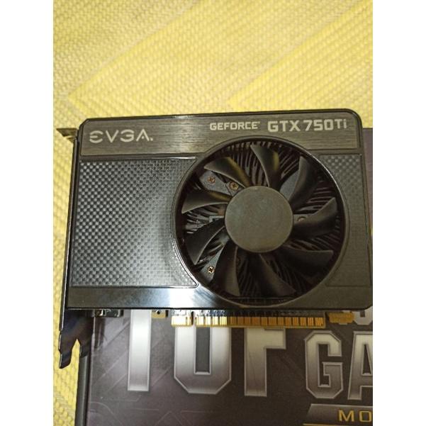 艾維克 EVGA Geforce GTX750ti 1G 顯示卡 GTX 750ti DDR5 1G