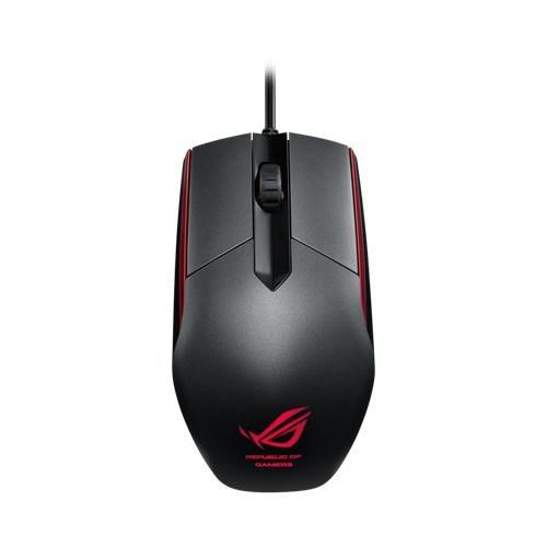 【ASUS 華碩 】ASUS ROG Sica 電競滑鼠-隕石黑(可更換微動開關)5000DPI 福利品
