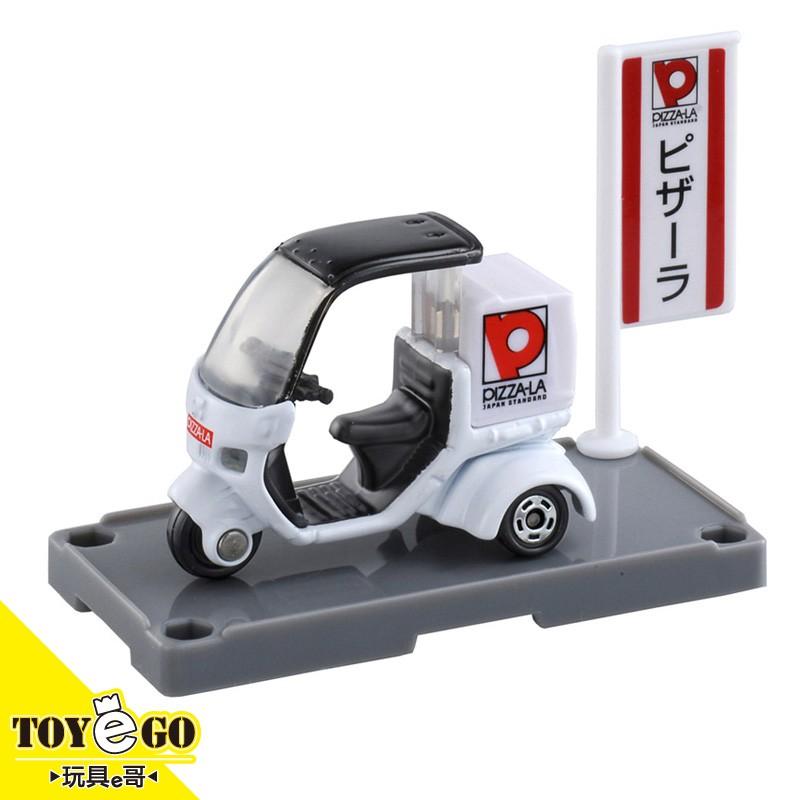 TOMICA 99 本田 PIZZA-LA 外送摩托車 玩具e哥10276
