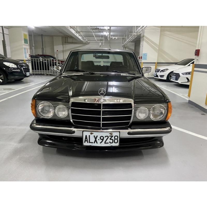 m-Benz w123 200 自售古董美車