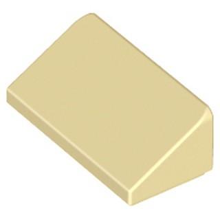 樂高 Lego 沙色 斜角 斜面 斜坡 斜邊磚 平滑 Tan 1x2x2/ 3 Slope 30 85984 積木 米色 新北市