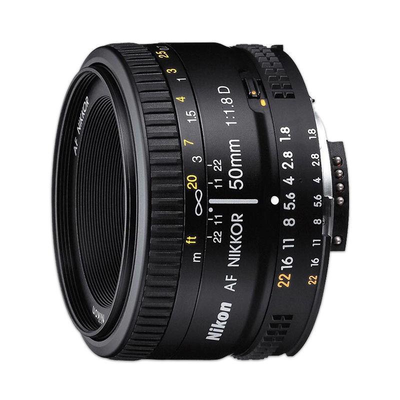 Nikon尼康50 1.8D鏡頭 AF 50mm f1.8D 人像定焦小痰盂50f1.8d鏡頭