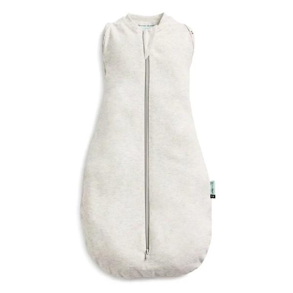 ergoPouch ergoCocoon 0.2T二合一舒眠包巾-亞麻灰 (0~3m|3~12m) 懶人包巾【麗兒采家】