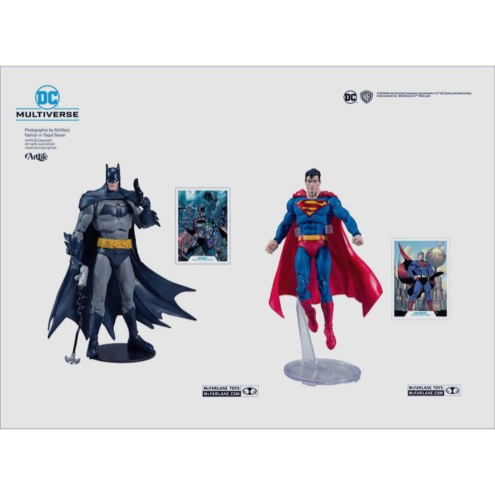 McFarlane DC MULTIVERSE BATMAN SUPERMAN 經典 蝙蝠俠 超人