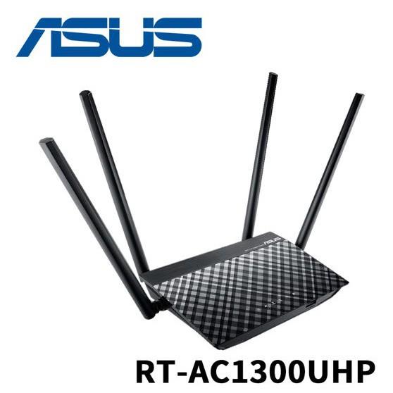 ASUS 華碩 RT-AC1300UHP 雙頻 MU-MIMO Wi-Fi 路由器 全新品開發票