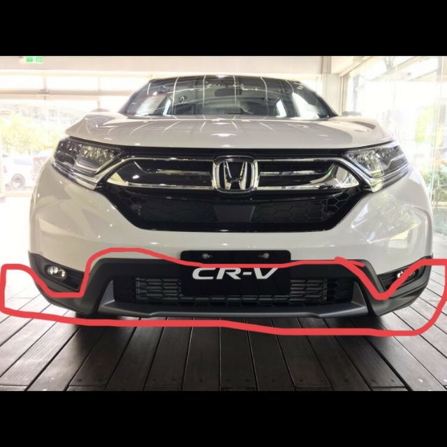 HONDA 全新原廠 2019 CRV 5代 前保桿 後保桿 下倒流 車殼 下巴 大包