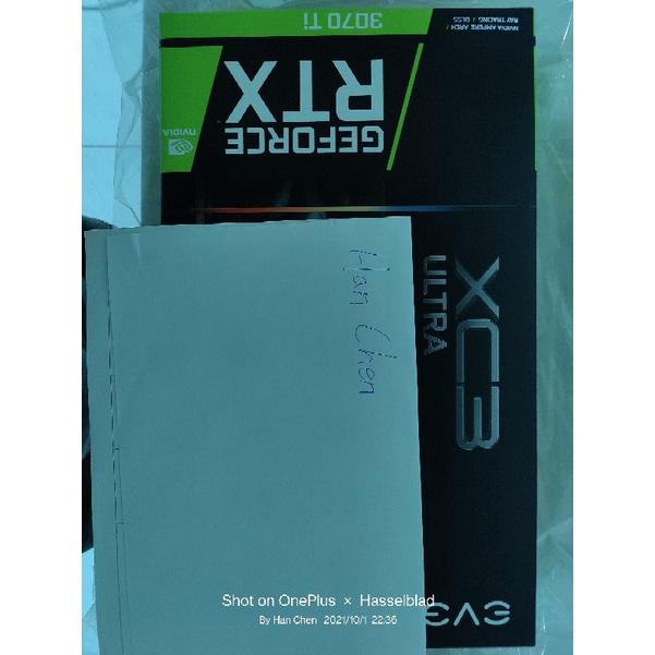 EVGA GeForce RTX 3070 Ti XC3 ULTRA GAMING