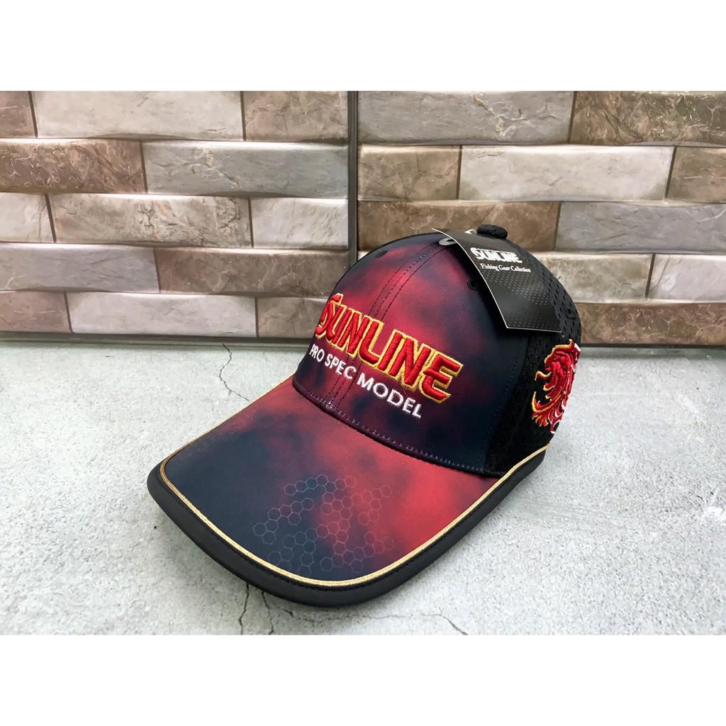 《永康東區釣具》SUNLINE  刺繡釣魚帽 帽子