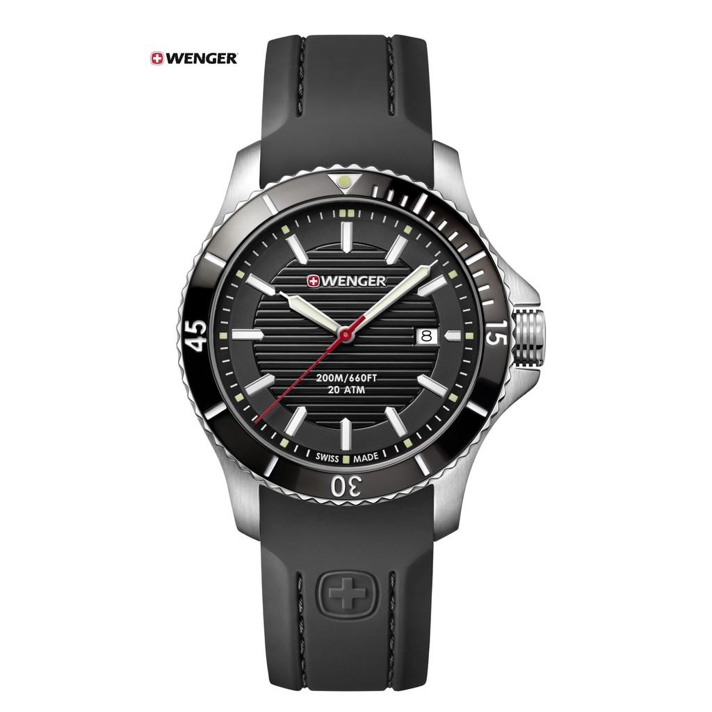 瑞士WENGER Seaforce 海勢系列 征服怒海潛水腕錶 01.0641.117