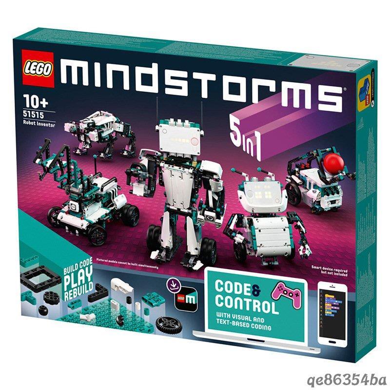 【滿299免運】【正品保證】LEGO 樂高 51515 新品機器人系列編程機器人拼插積木玩具 Rzoe❖