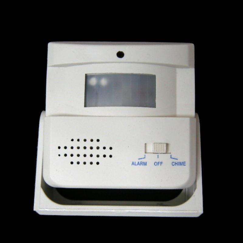 2合1紅外線來客報知器『來客鈴+警報鈴』防盜器 紅外線感應器 電子狗【DA253】