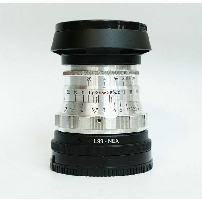 俄羅斯 Industar-26m -61L/D 50/2.8 旁軸鏡頭 轉各家微單 全畫幅