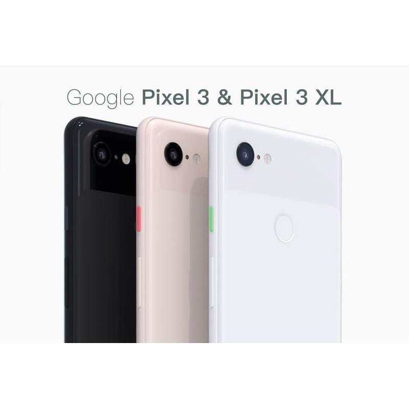 盒裝 Google Pixel 3 3XL(送保護套+鋼化膜) 三代 64GB/128GB/八核/5.5吋/6.3吋空機