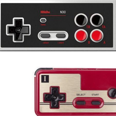 八位堂八位堂8Bitdo N30無線藍牙switch遊戲手柄NES 支持安卓PC電腦MAC XoQg
