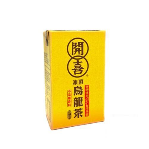 開喜凍頂烏龍茶(微糖)250mlx6包  【大潤發】