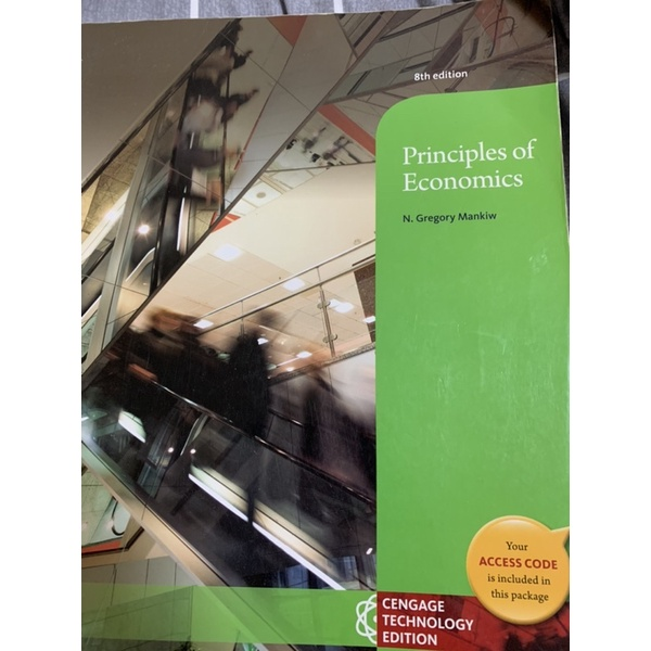 經濟學principles of Economics第8版(原文)