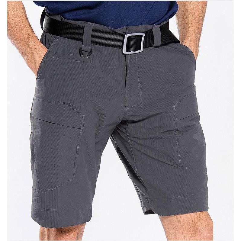 戶外速干短褲男夏季彈力耐磨透氣軍迷戰術五分短褲登山休閑徒步褲