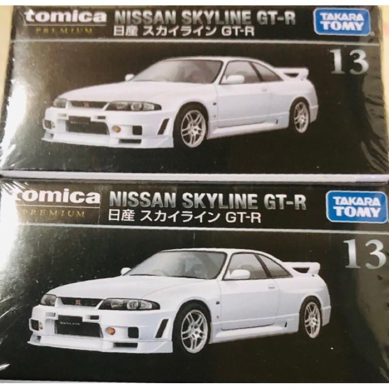 Tomica premium 黑盒 13 新包裝 絕版 gtr r33