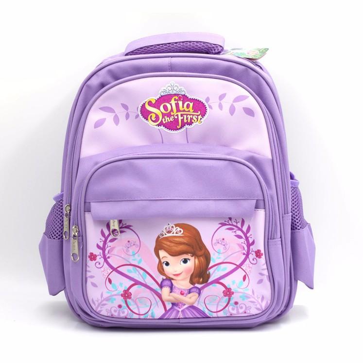 【Disney迪士尼】正版休閒兒童書包-蘇菲亞