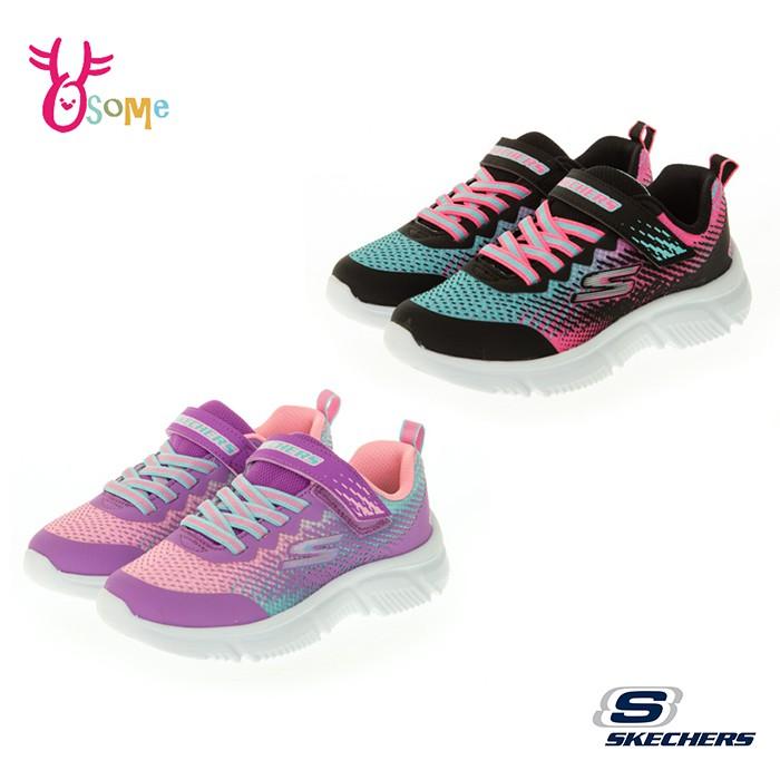 2色Skechers童鞋 女童運動鞋 GORUN 650 輕量運動鞋 避震 跑步鞋 慢跑鞋 魔鬼氈 V8224.25