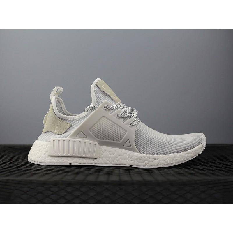brand new f4296 e9919 Adidas NMD Primeknit XR1 Basf Boost 條紋白 男女鞋 BB3684 36-44