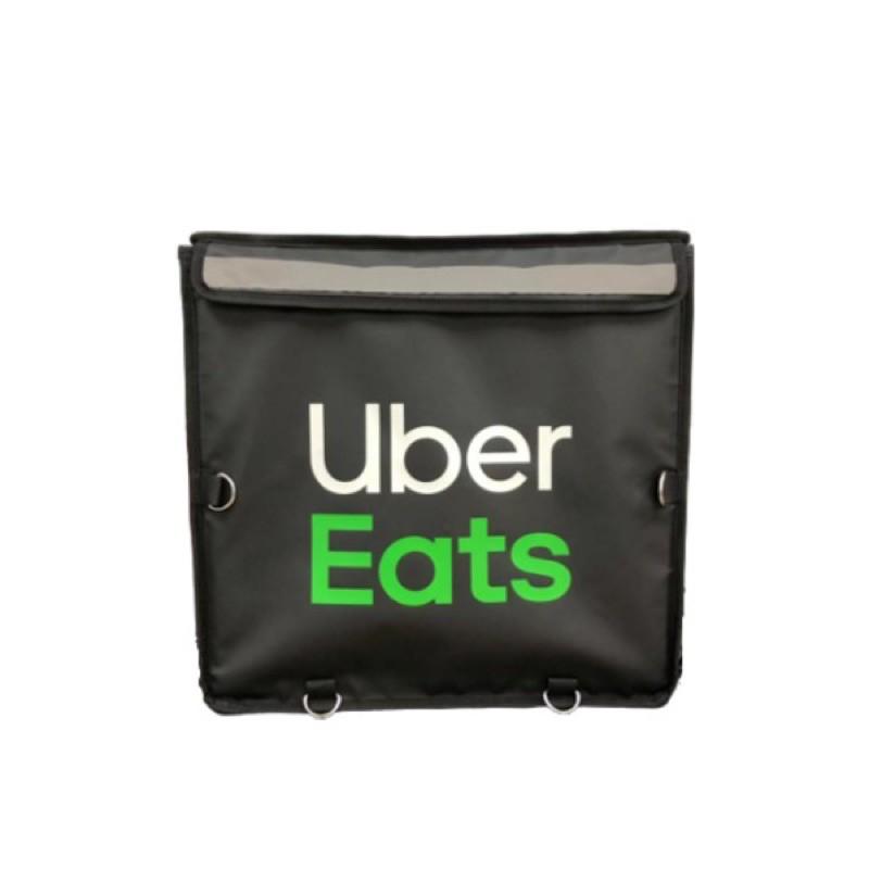(限三峽面交自取)UberEats大箱UberEats保溫袋四代大包上掀式 官方保溫袋 黑色白字綠字 原廠保溫袋/包