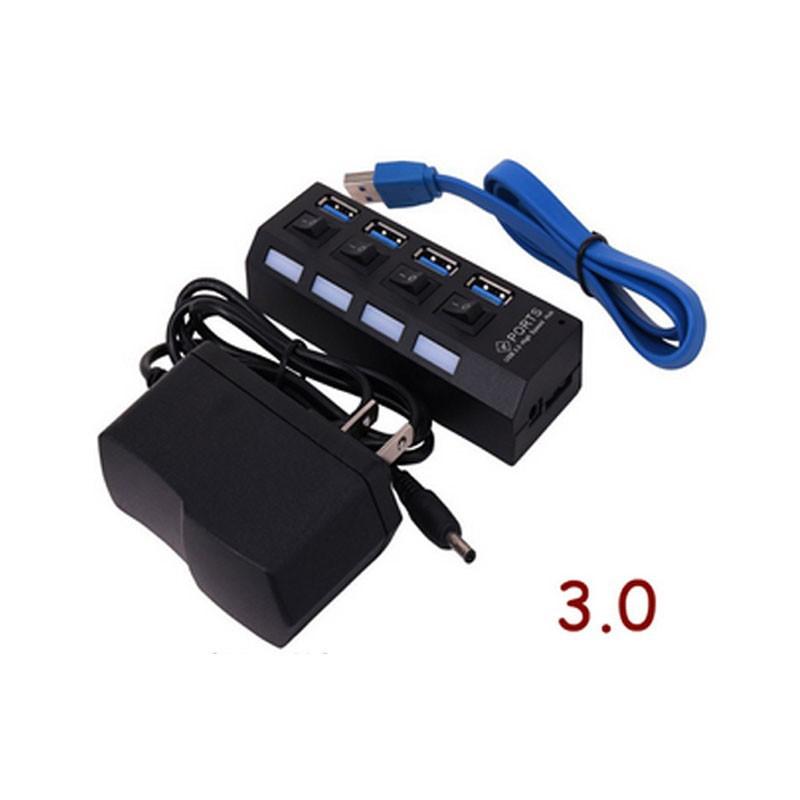 ☋USB3.0 HUB 7port 4port 7端口集線器 4端口分線器 擴充槽 可開關 扩展器