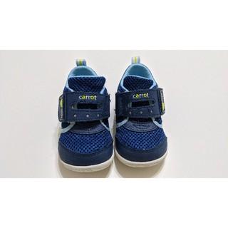 ★ 二手★  Moonstar 月星 carrot 14cm 健康機能童鞋 速乾鞋 學步鞋 童鞋 新北市