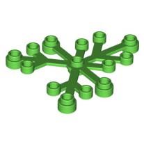 LEGO 樂高 6x5 亮綠色 2417 植物 樹葉 草 葉子 6x5 21318 樹屋 4129872 6266964