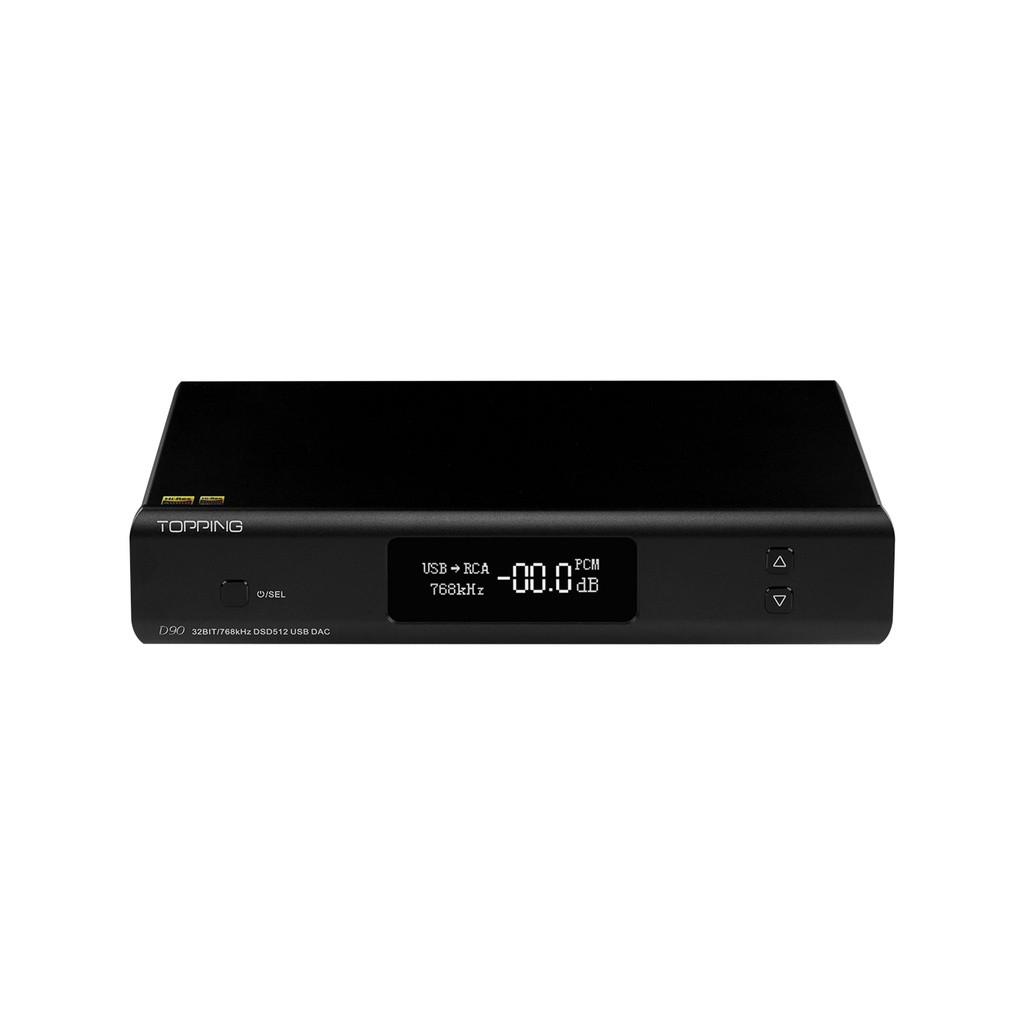 新款 免運 TOPPING D90音頻解碼器AK4499 DAC前級DSD BT5.0解碼器