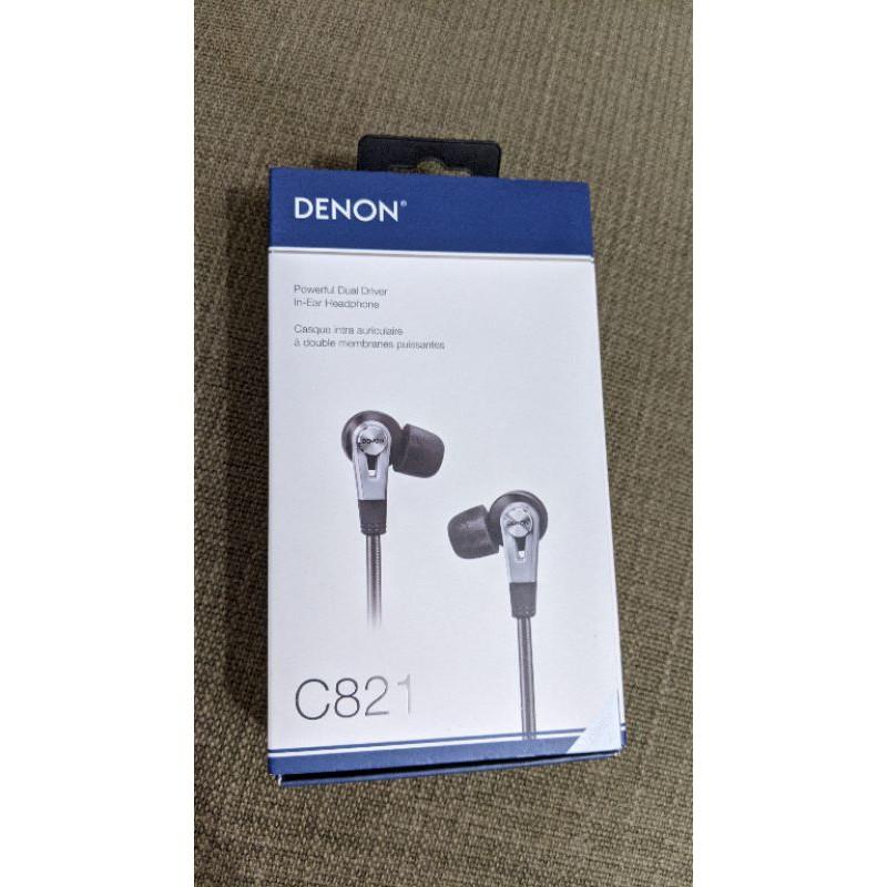 DENON C820/C821 耳道式耳機