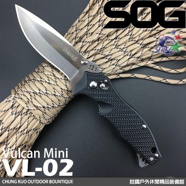 詮國 SOG Vulcan Mini 折刀 VL-02
